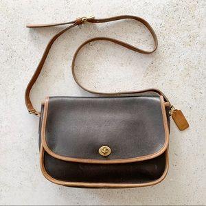 🌾 VINTAGE COACH Turnlock Bag Crossbody Messenger